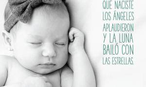 imagenes de bebes recién nacidos con frases