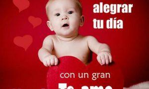 imágenes de bebes con frases lindas