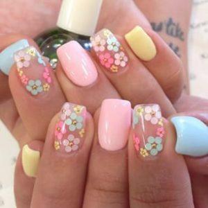 imagenes de uñas decoradas sencillas